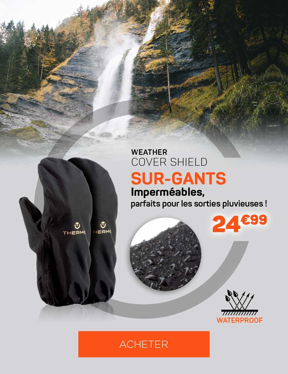Découvrez les sur-gants imperméables idéales pour vos courses de Trail