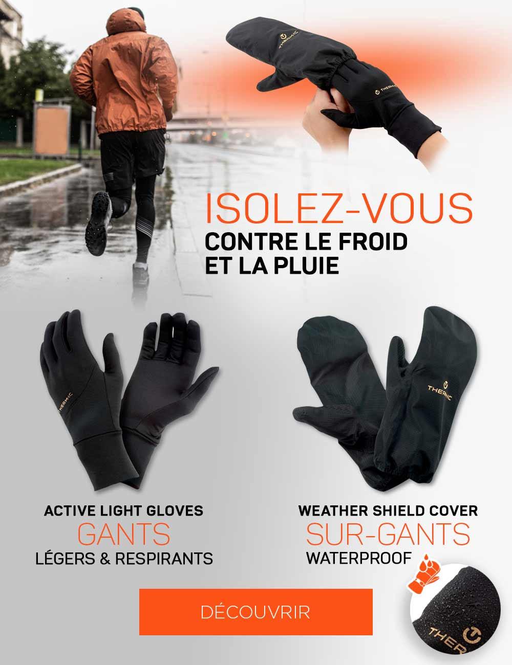 Protégez-vous du froid et de la pluie